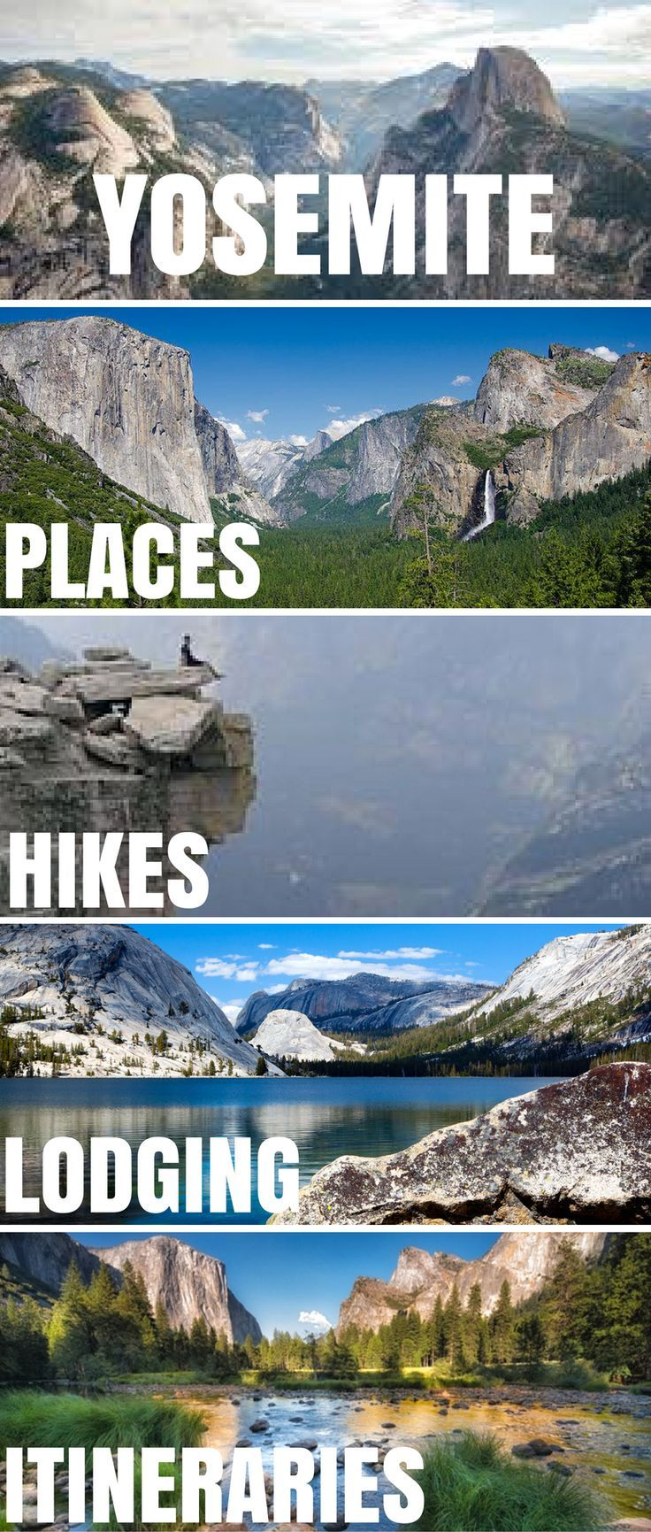 Everything you could possibly need to know about visiting Yosemite National Park. Best hikes in Yosemite Best camp sites in Yosemite Best lodging in Yosemite Best things to see in Yosemite