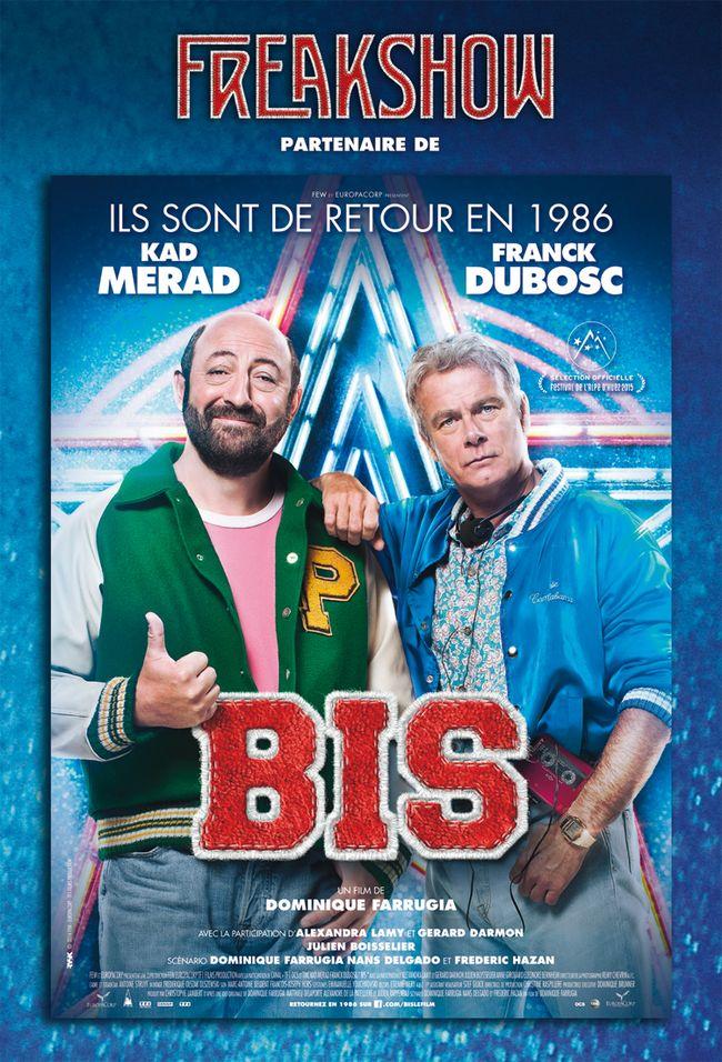 Le partenariat Freakshow et le film BIS en avant sur le site de France Optique.