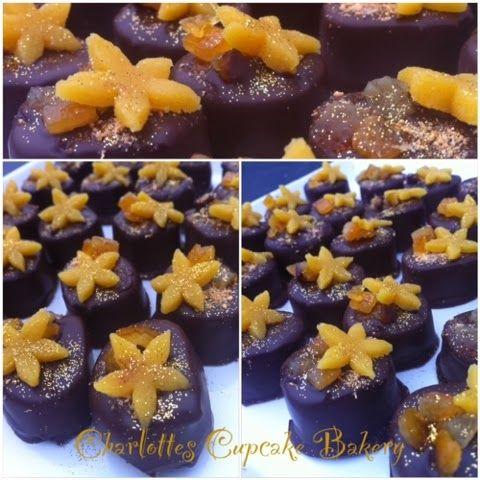 Charlotte's Cupcake Bakery : Marcipan konfekt med Orange
