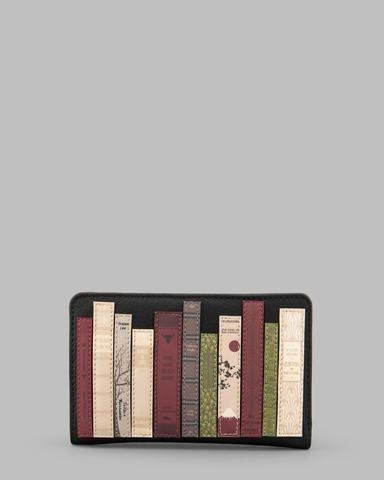 Yoshi Books Zip Around Purse In Black