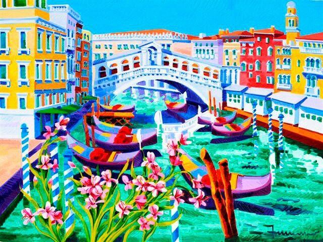 Athos Faccincani - Luci su Venezia