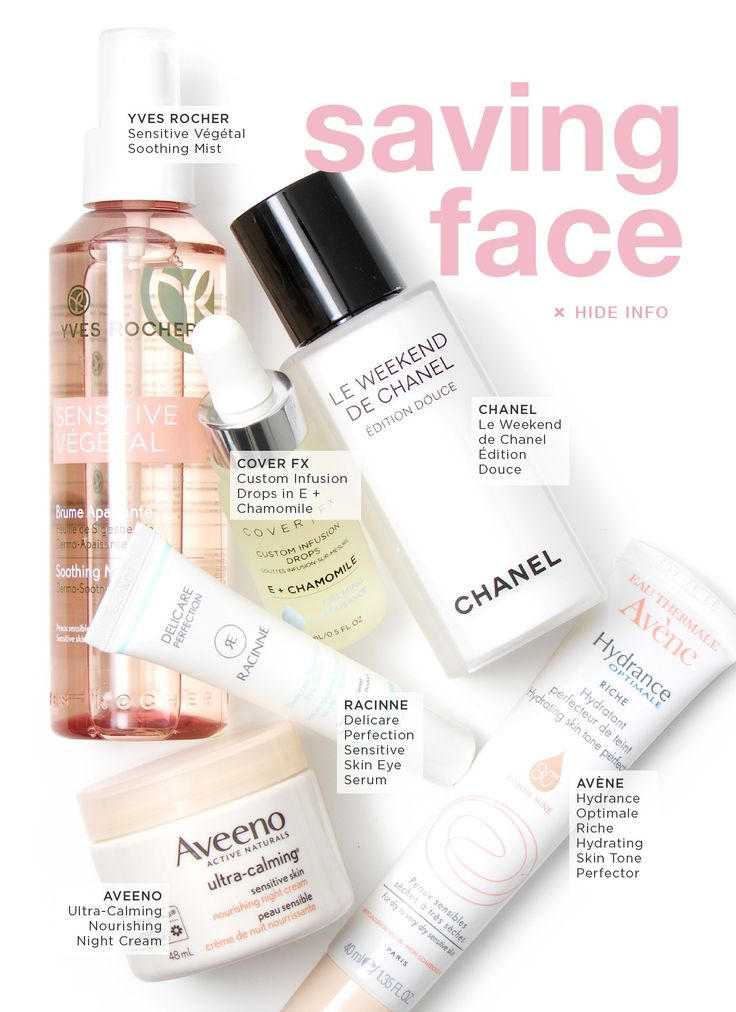 Saving Face: Sensitive Skin Care Products #beautezine