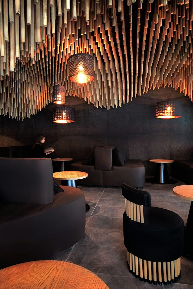 parametric and oriental meet together in a hookah bar in sofia by kman studio