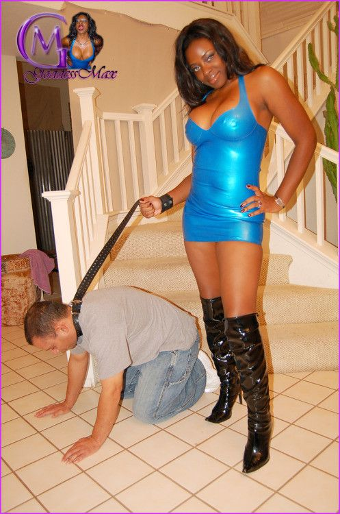 black domme white sub