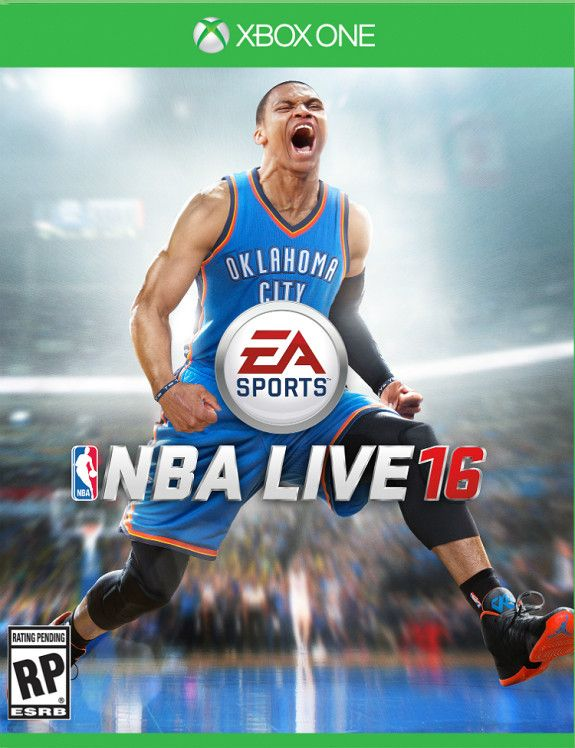 Russell Westbrook Gets Cover of NBA LIVE 16