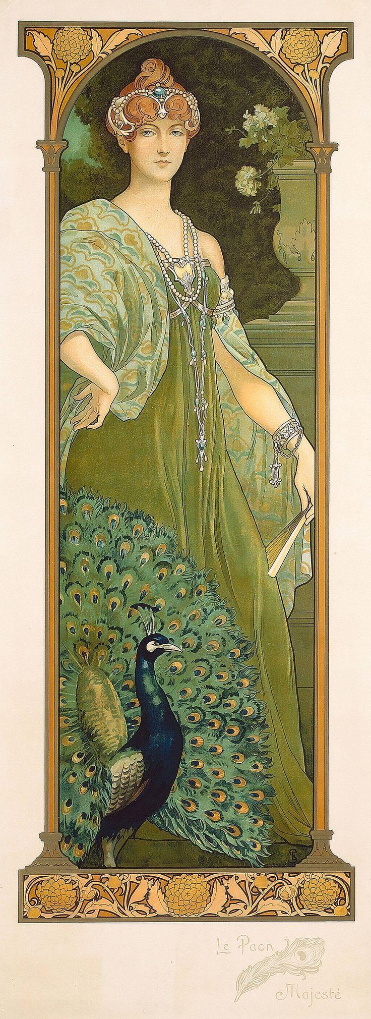 Le Paon - Majeste (Elisabeth Sonrel)