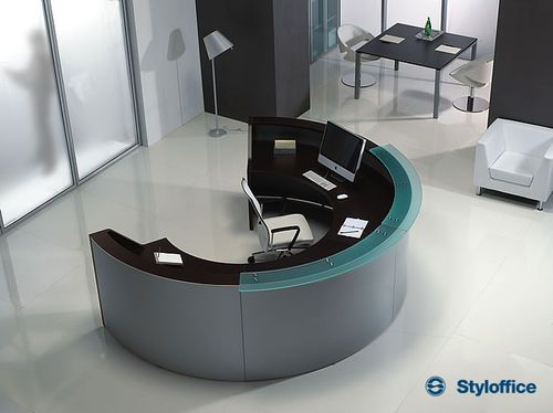 18 best fun with cubicles images on pinterest offices for Reception scrivania
