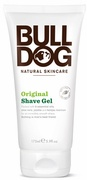 Our wonderful Bulldog Natural Grooming Original Shave Gel contains seven essential oils, Aloe Vera, Jojoba, and Konjac Mannan to give a smooth and moisturising shave every time.    This shave gel has been developed to go on clear, enabling the shaver to see the underlying growth. Added menthol gives a cooling effect. Key Ingredients:    Aloe Vera, Rosemary, Bergamot, Coriander, Peppermint, Eucalyptus, May Chang, Basil, Jojoba, and Konjac Mannan.