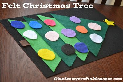 Felt Christmas Tree-Toddler Proof Christmas