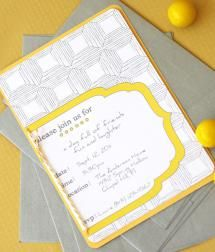 The 15 Best Free Printable Birthday Invitations: Hello, Sunshine by Paper