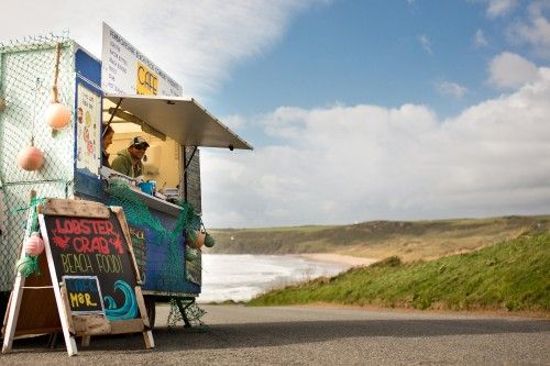 Cafe Mor - The Pembrokeshire Beach Company's famous seaside shack