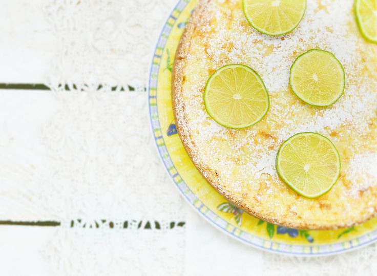 Рисовый пирог с лаймом