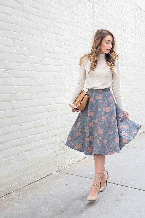 perfect midi skirts for women