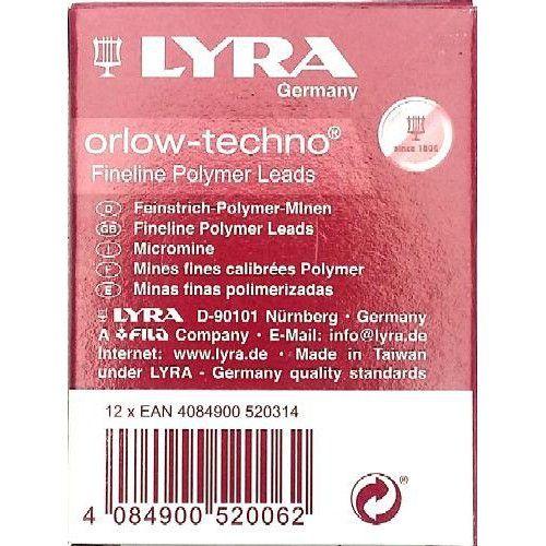 Töltőceruza betét - Ironbél - Lyra 0.5mm - B - Rotring hegy Ft Ár 139