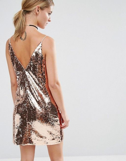 ASOS Petite | ASOS PETITE Sequin Cami Mini Dress