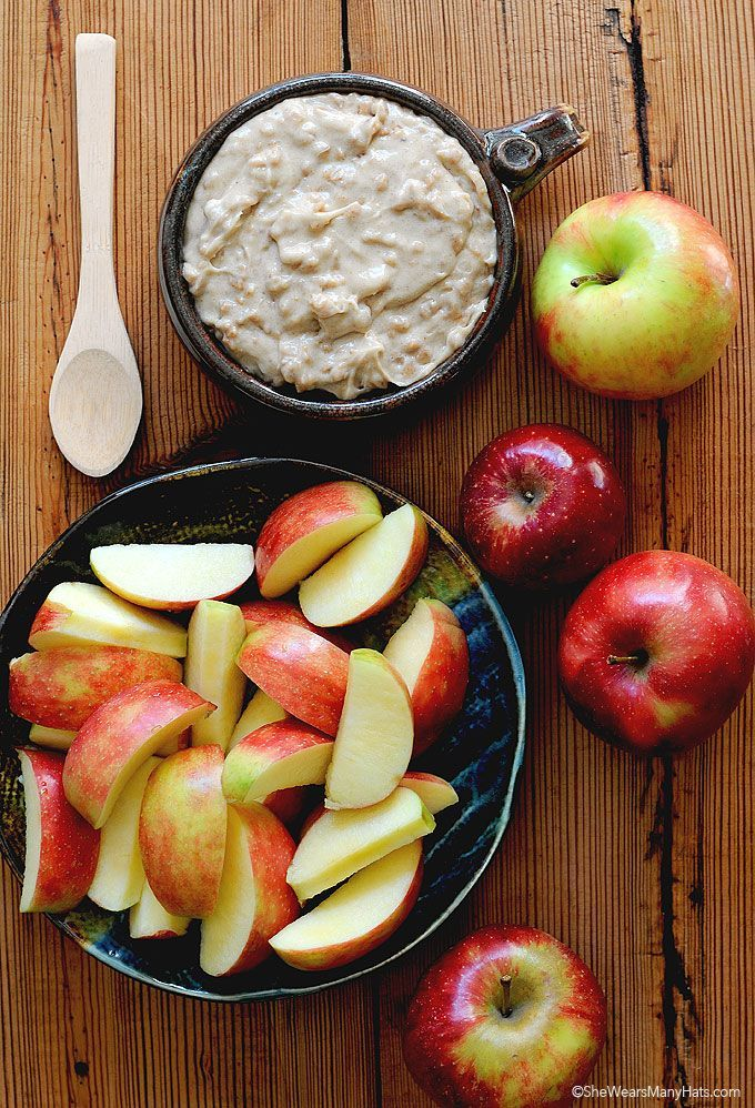 Toffee Caramel Apple Dip Recipe FoodBlogs.com
