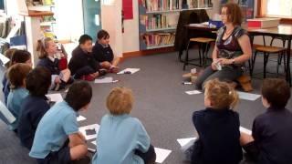Phonics lesson: Yolanda Soryl teaches letter/sounds correspondences (Stage 2).mp4, via YouTube.