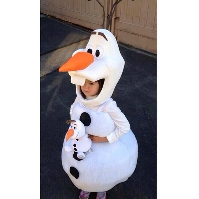 how to make olaf costume - Google Search