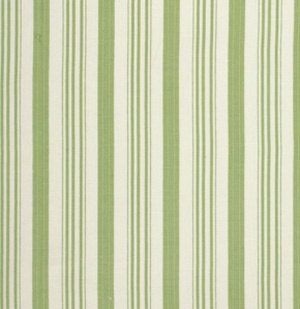 Barefoot Roses Stripes in Green