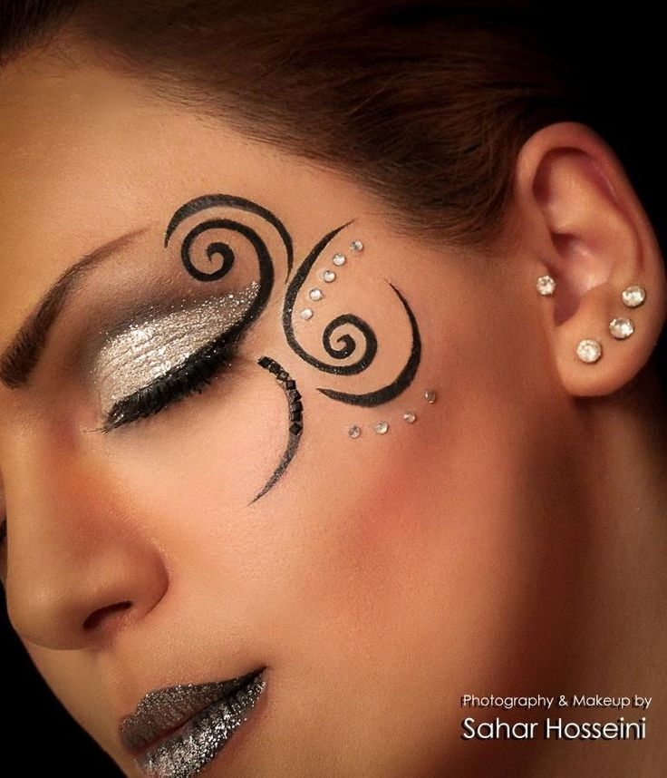 fantasy makeup @Diana Avery Avery Avery OpdenDries                                                                                                                                                     More