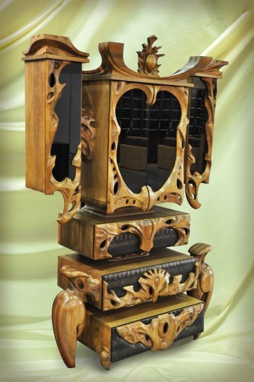 необычная мебель , авторская мебель , мебель деревянная , резная мебель . мастерская Пахомова