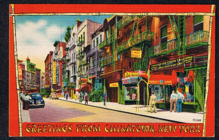 Postcards from chinatown