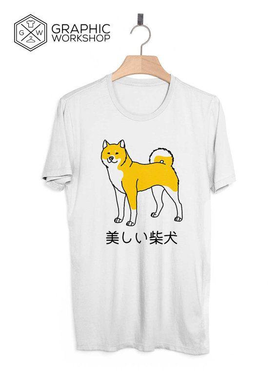 Shibe Doge T-Shirt // Japanese Clothing Shiba Inu Tumblr Vaporwave Aesthetics Harajuku Kawaii Sad Boys Vintage 90s Love Very Rare Yung Lean