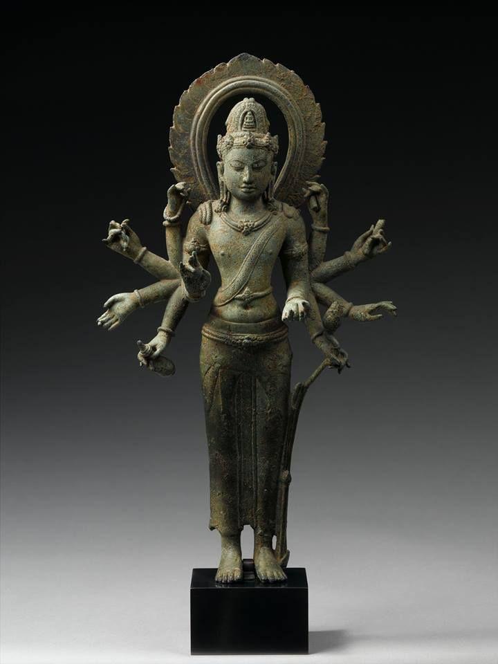 Bodhisattva Avalokiteshvara   9th century   Western Indonesia   Lent by Musée National des Arts Asiatiques–Guimet, Paris
