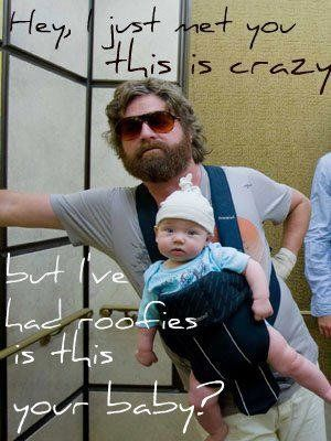 I looove alan (;: Funny Movie, Zach Galifianakis, Giggles, Funniest Things, Baby Carlo, Funny Stuff, The Hangover, Baby Funny, Favorite Movie