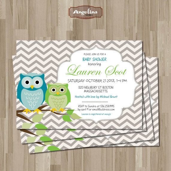 Vintage Owl Baby Shower Invitations: 101 Best Images About Baby Shower On Pinterest