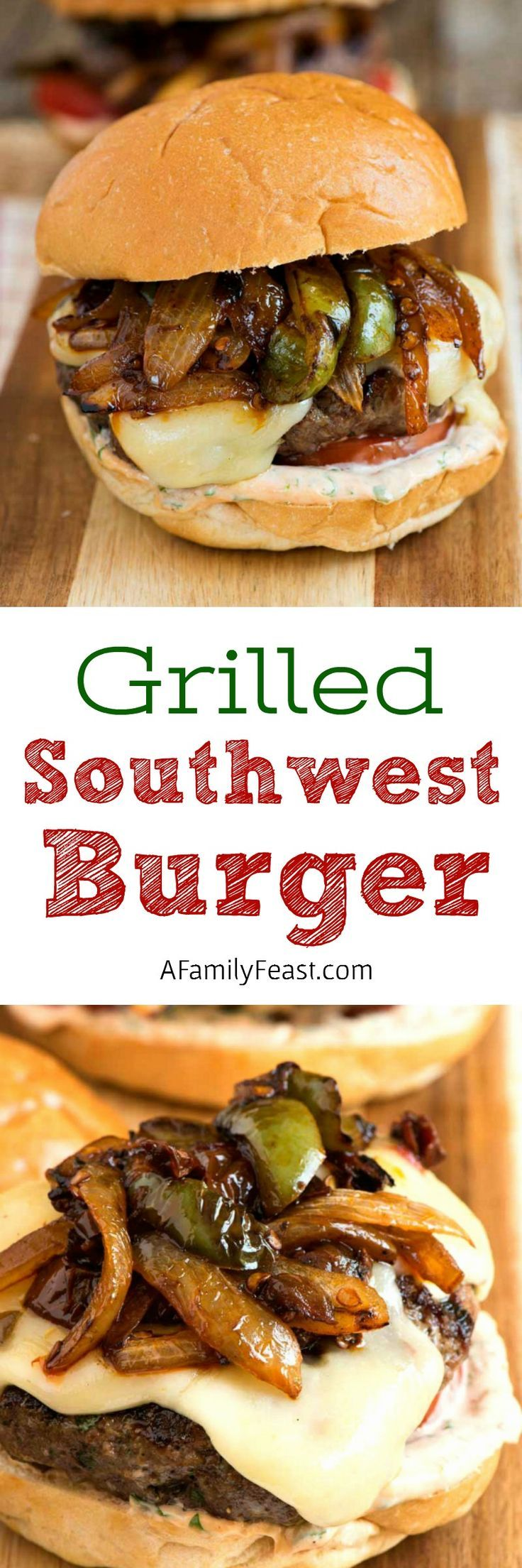 Grilled Southwest Burger | grilling | hamburger | grass-fed beef