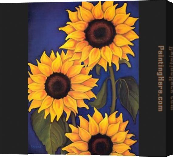 Image result for how to paint a sunflower on a canvas for How to paint sunflowers in acrylic