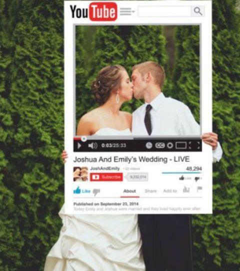 26 Funny Photo Booth Props Ideas For Your Wedding | Weddingomania