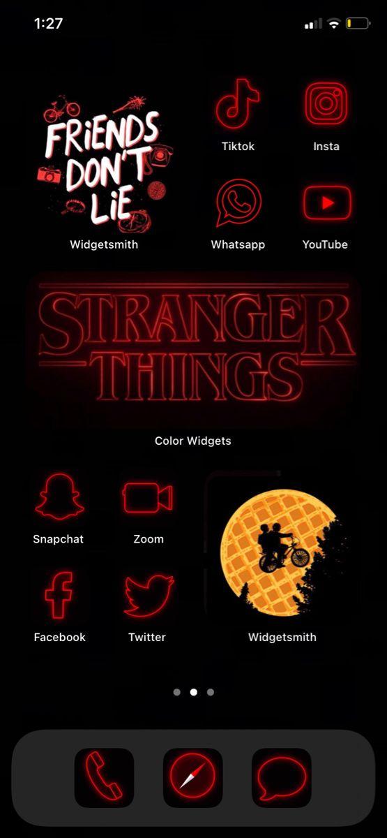 Inspo Stranger Things Logo Stranger Things Poster Ios App Iphone