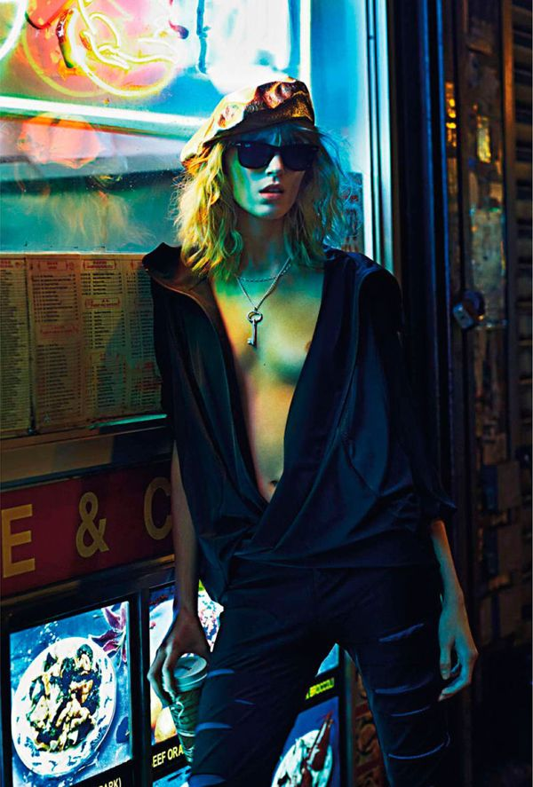 Anja Rubik Turns Up the Heat in Mario Sorrenti's Vogue Paris February 2013 as 'New York Partie II' - 3 Sensual Fashion Editorials | Art Exhibits - Anne of Carversville Women's News