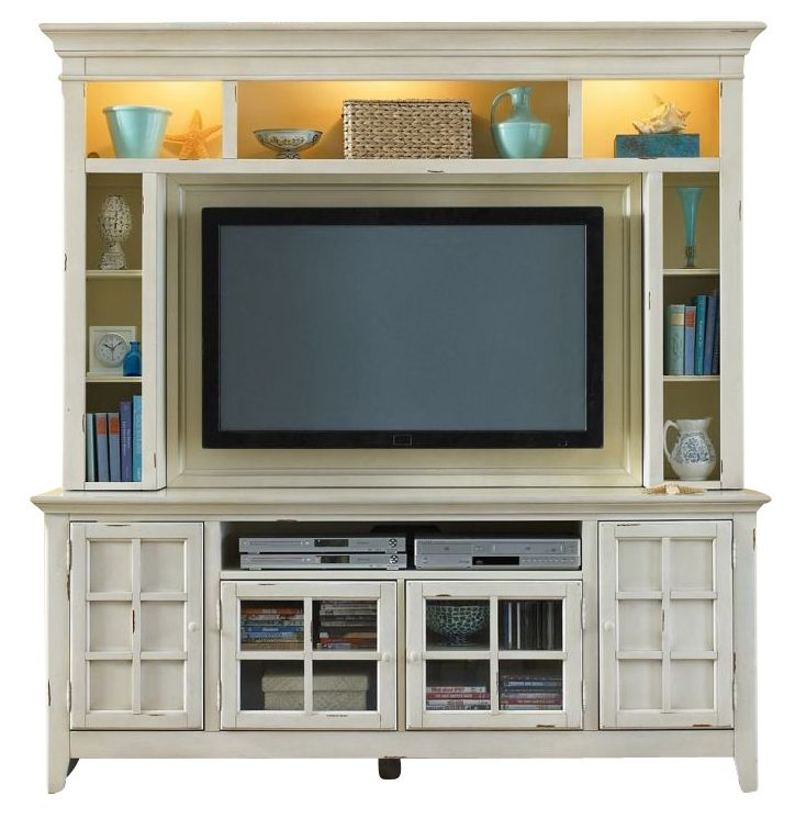Liberty New Generation Entertainment Center in Cream EST SHIP TIME IS 4 WEEKS