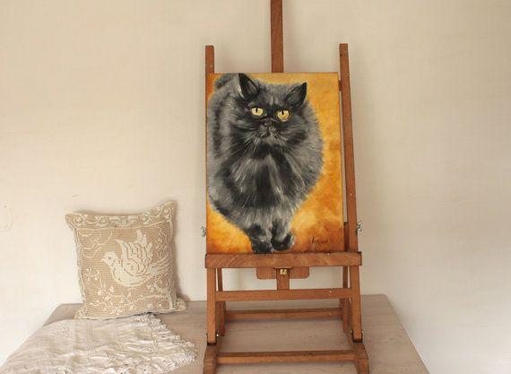 Persian Cat by BarbaraGallery on Etsy