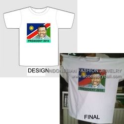 T-shirts for political party campaign of Namibia