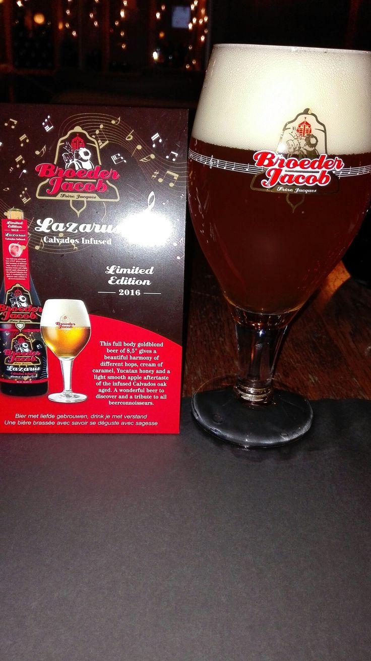 Broeder Jacob Lazarus -  Calvados infused #belgianbeer #bierebelge