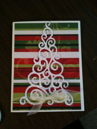 Great Christmas card idea! Simple and sweet