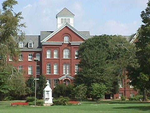 Spelman College exterior shot.