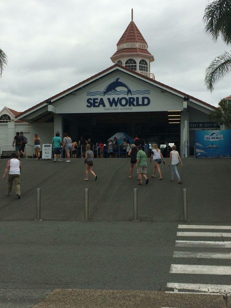 Sea World, Gold Coast, Australie 25/10/2015