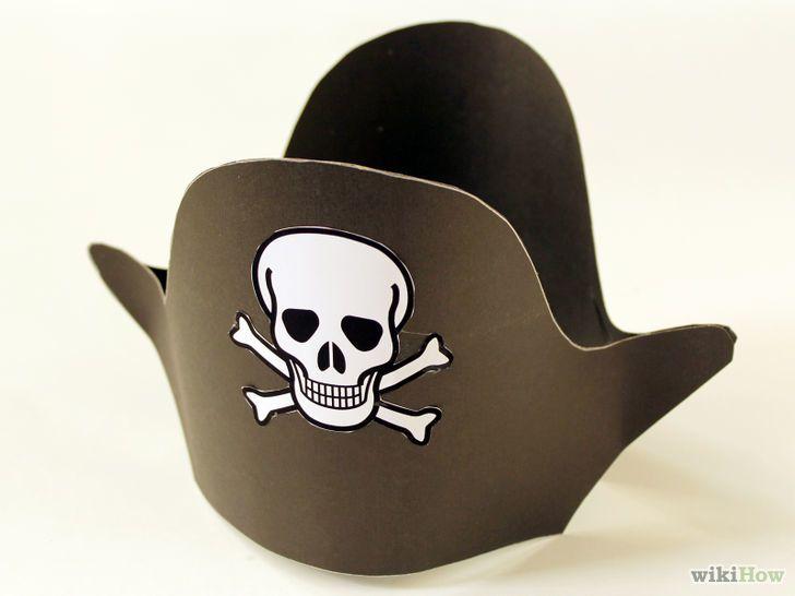 fabriquer un chapeau de pirate Deguisement pirate enfant, Co