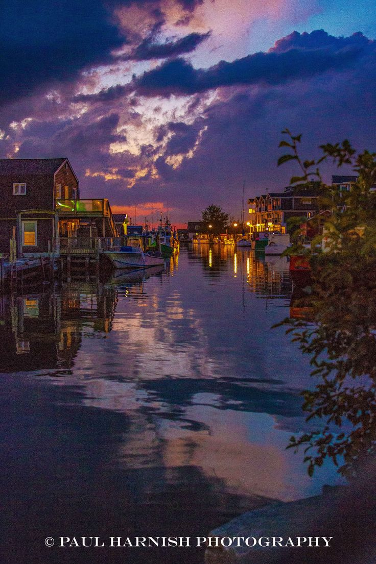 Eastern passage at dusk in HDR © Paul Harnish Photography