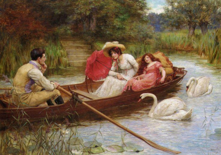 Summer Pleasures on the River, George Sheridan Knowles