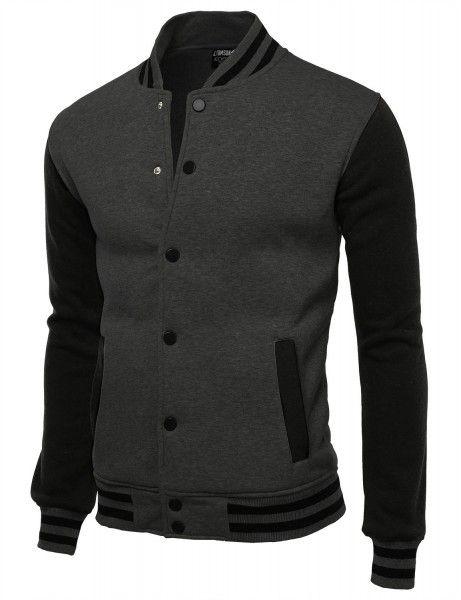 Doublju - Jaqueta Varsity Casual Baseball (VAMOJA01) Compre roupas de qualidade, com design inovador e preço justo!