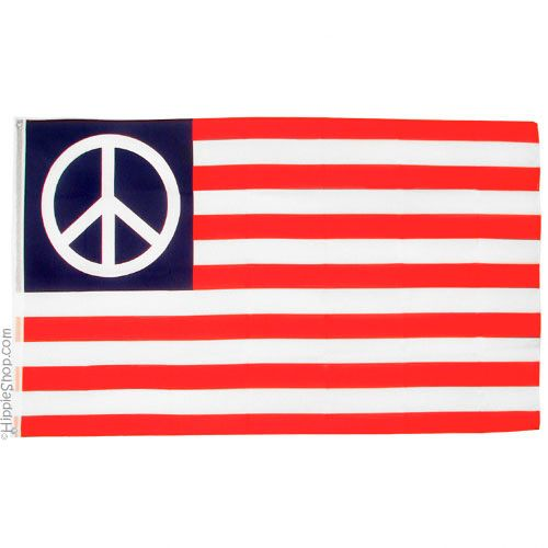 American Peace Flag on Sale for $9.99 at HippieShop.com I had a poster similar to this hanging over my bed in the 70's