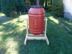 Barrel Compost Tumbler