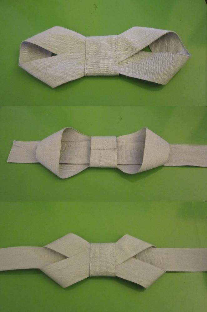 DIY Ribbon Bow Belt. The pictures tell you all you need to know to do this. Must try.