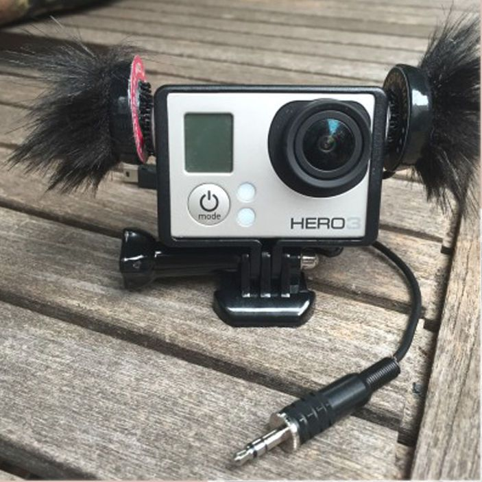 Immorrtal Mics, Monkey Nuts – Built in GoPro Connection, ImmortalMics Microphone #GoPro